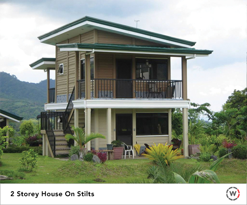 Building System, 2 storey house, Strongest, Durable, WallCrete, House, Philippines