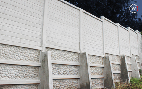 Fences, Durable, 2500 PSI, WallCrete, Brand