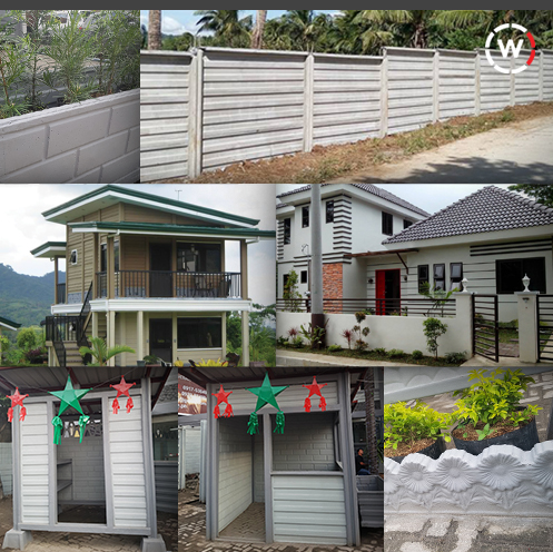 DIY, Fences, Panels, WallCrete, Guard Post, Dog House, Philippines